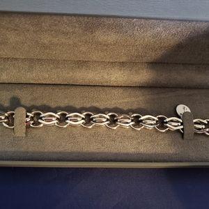 Chisel Stainless Steel Open link Bracelet